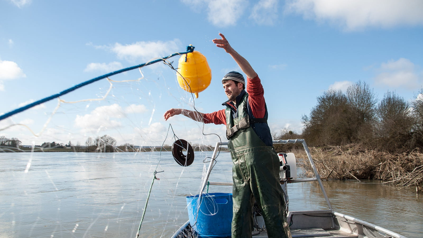 Romain Gadais - pêcheur professionnel de Loire
