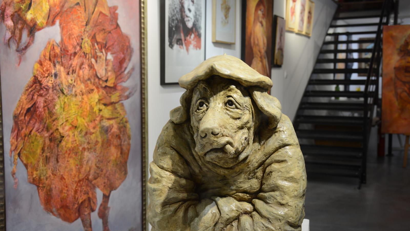 Sculpture JP Blanchard