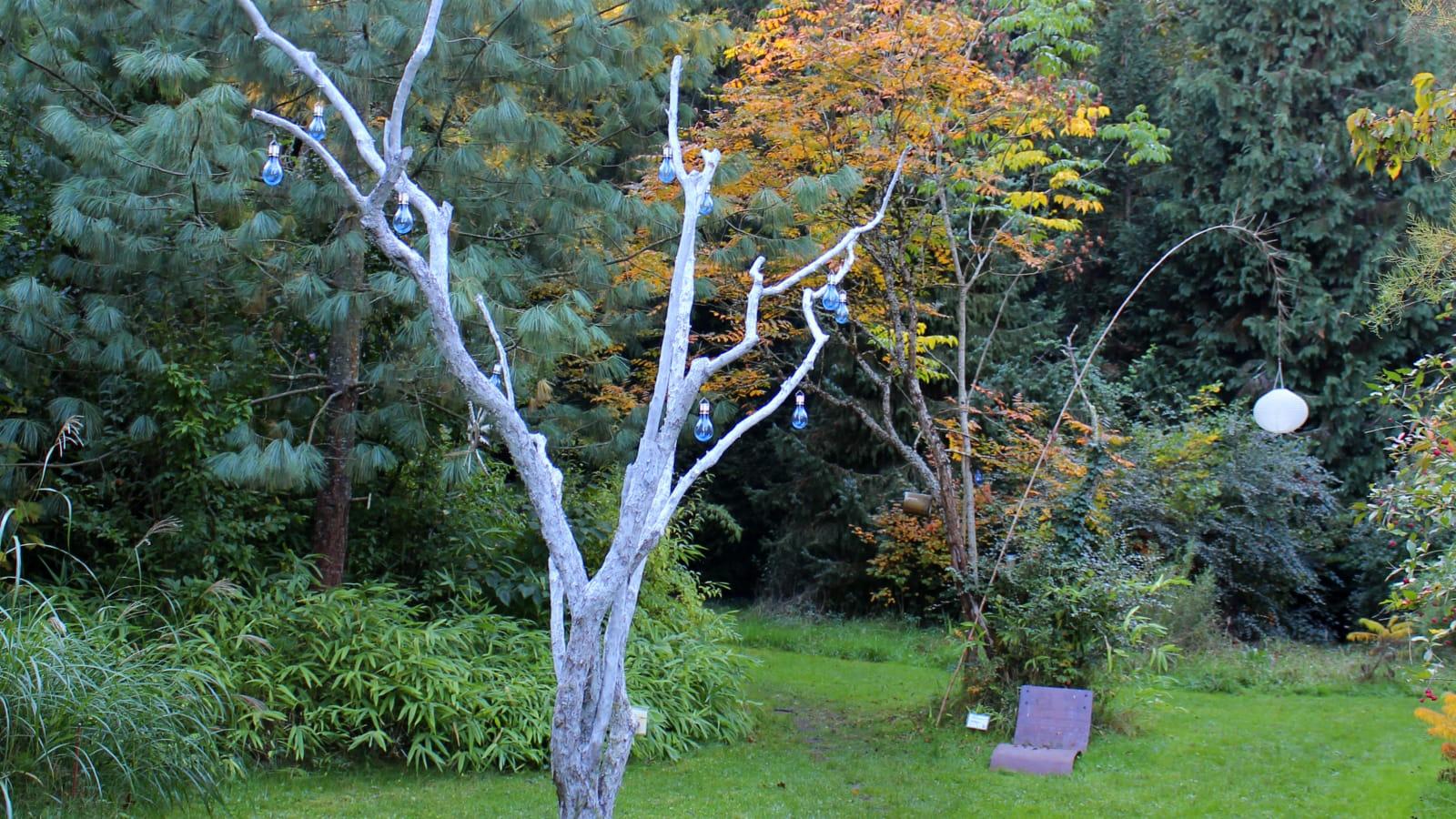 Sculpture végétale Arboretum
