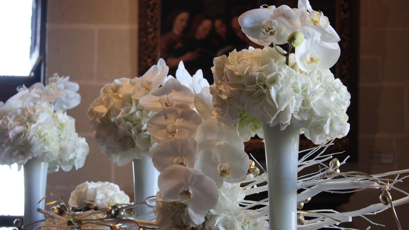 Composition florale Chenonceau