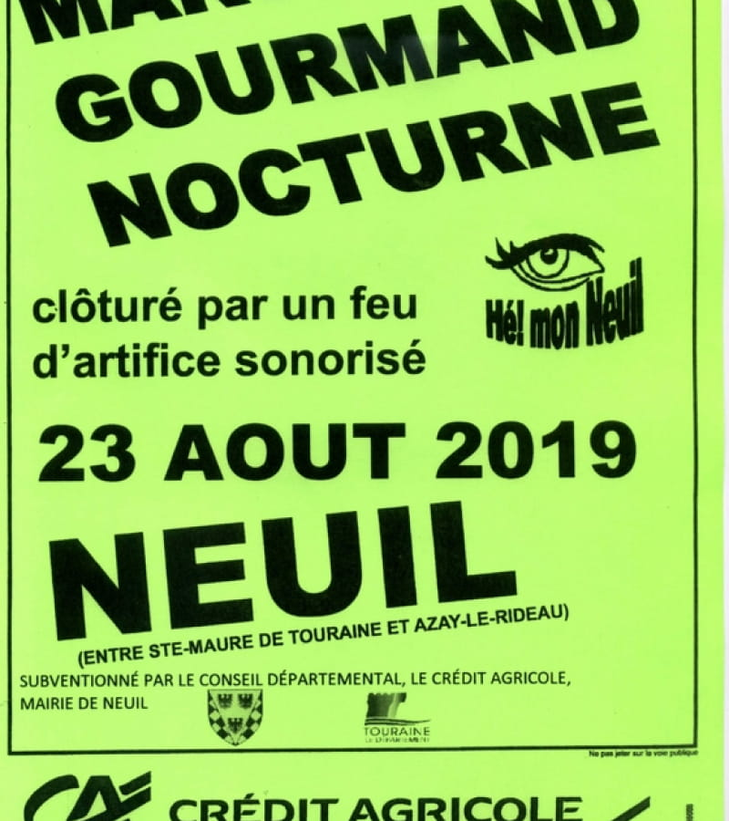marche gourmand neuil