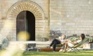 Prieure_Saint_Cosme_Refectoire_Slowtourisme_stevens_Frémont