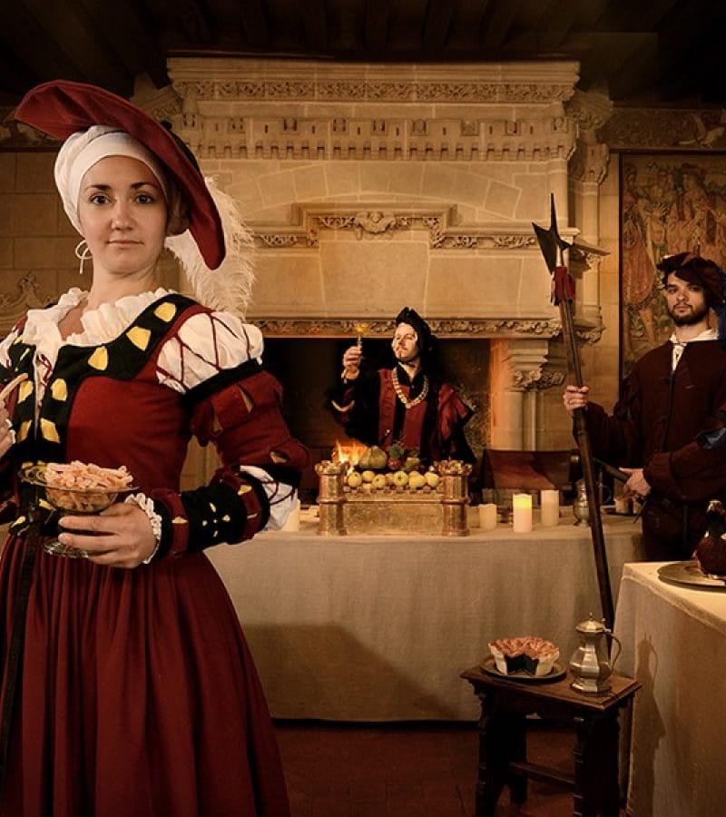 Vie de château – l'art des divertissements à la Renaissance