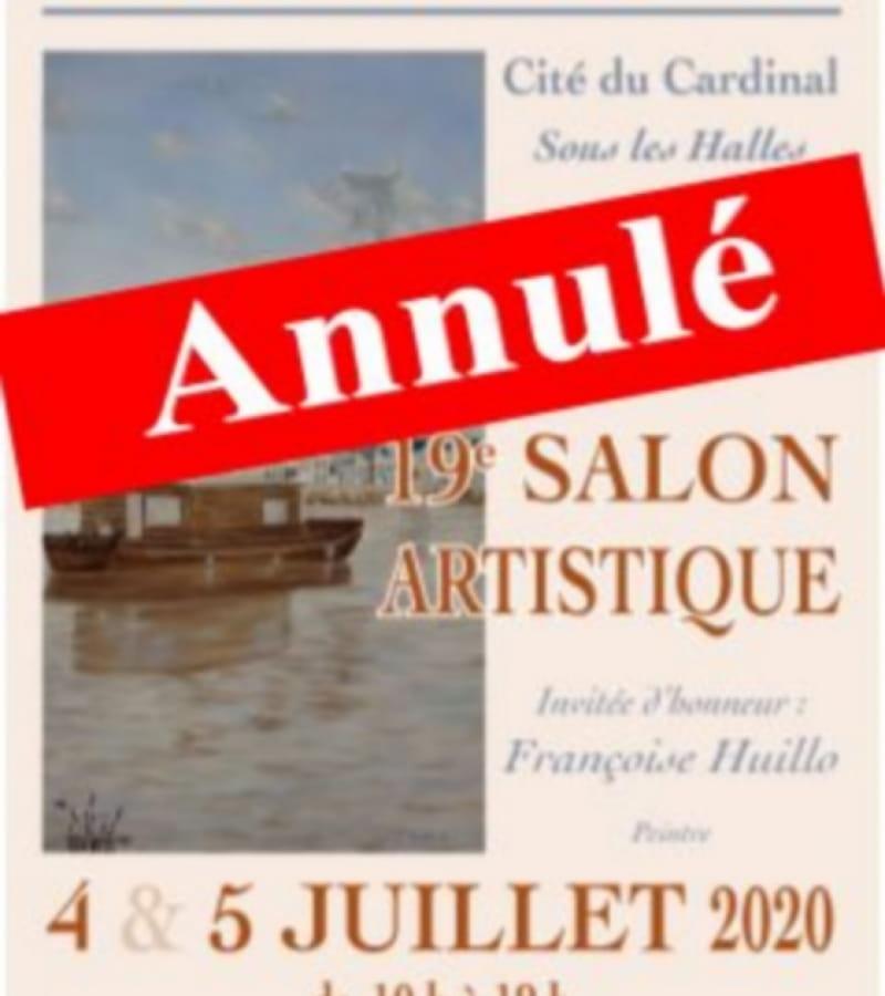 salon artistique Richelieu juillet 2020 annulé