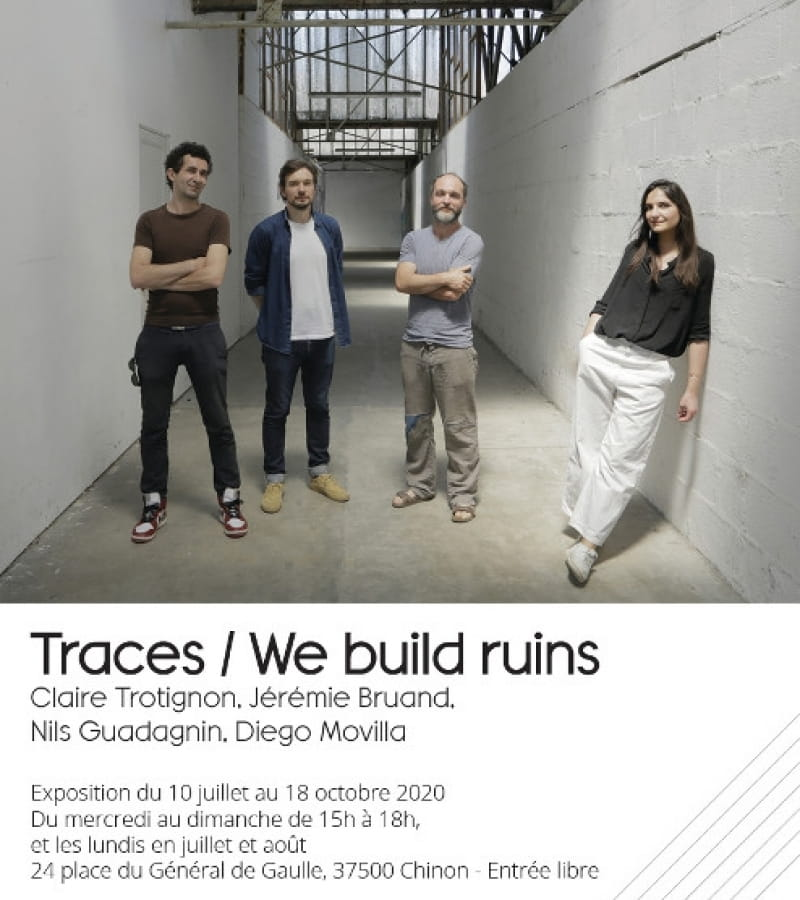 exposition Traces - We build ruins (recto)
