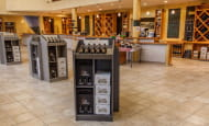 Vouvray wine house - Wine tasting, France.