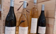 Rousseau Frères wines - Loire Valley, France.