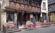 La maison Rouge terrasse Chinon