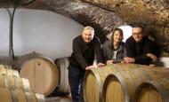 Rousseau Frères wine cellar - Esvres-sur-Indre, France.