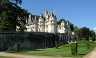 Château of Ussé - Rigny-Ussé, Loire Valley, France.