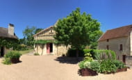 Musée Rabelais, La Devinière (vue de la cour)