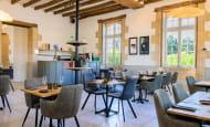 En salle - Restaurant l'Epine, à Azay-le-Rideau.