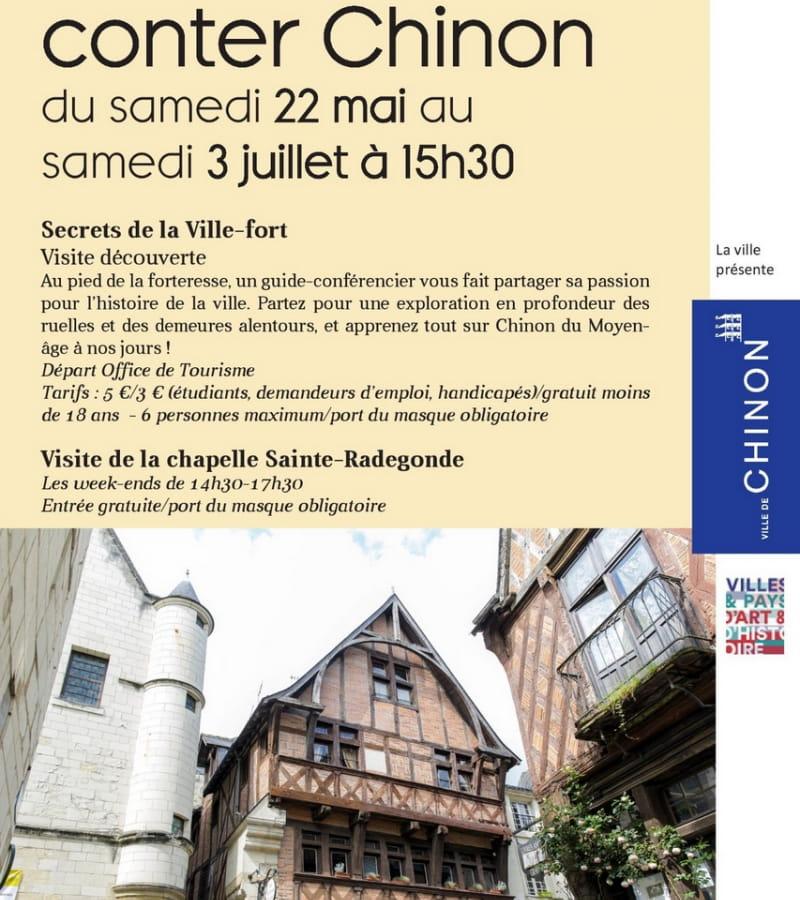 Visite de Ville Chinon