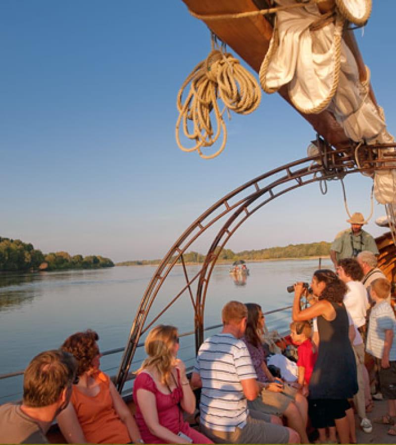 Croisière sur la Loire et la Vienne à bord de l'Amarante