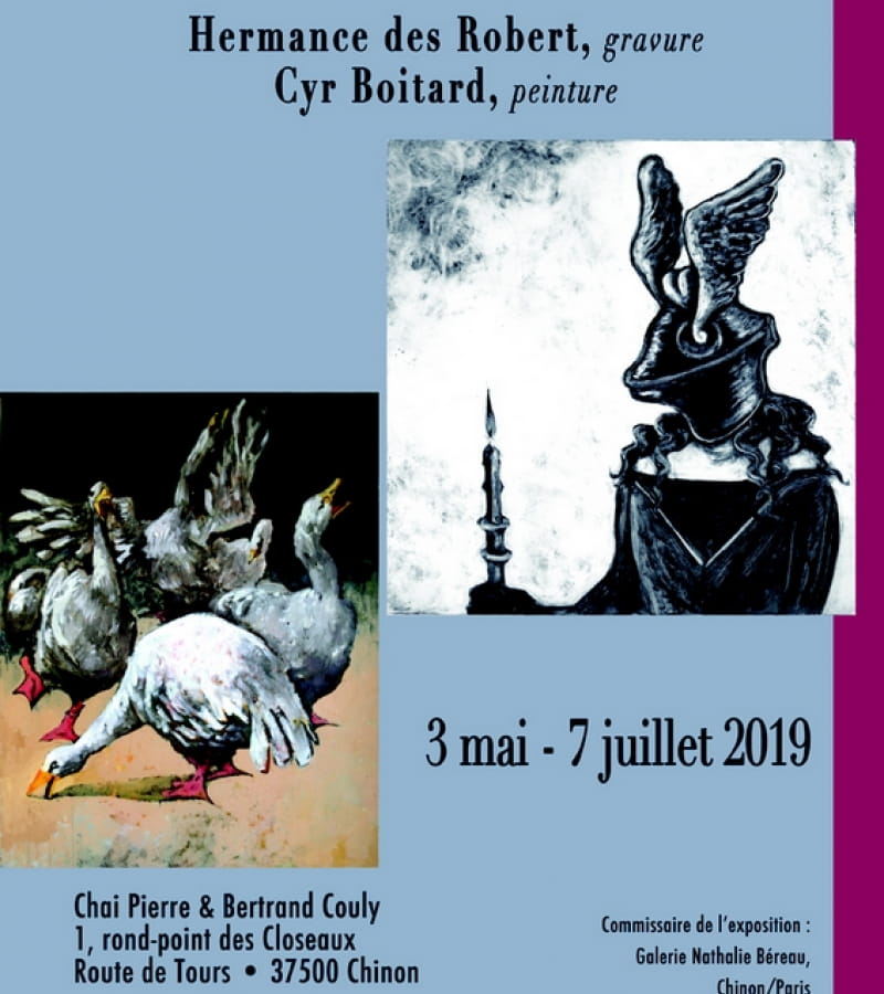 Affiche expo Enluminees Couly 2019 bd