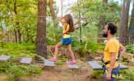 Le baud'rillé Parc Aventure - Parcours dans les arbres