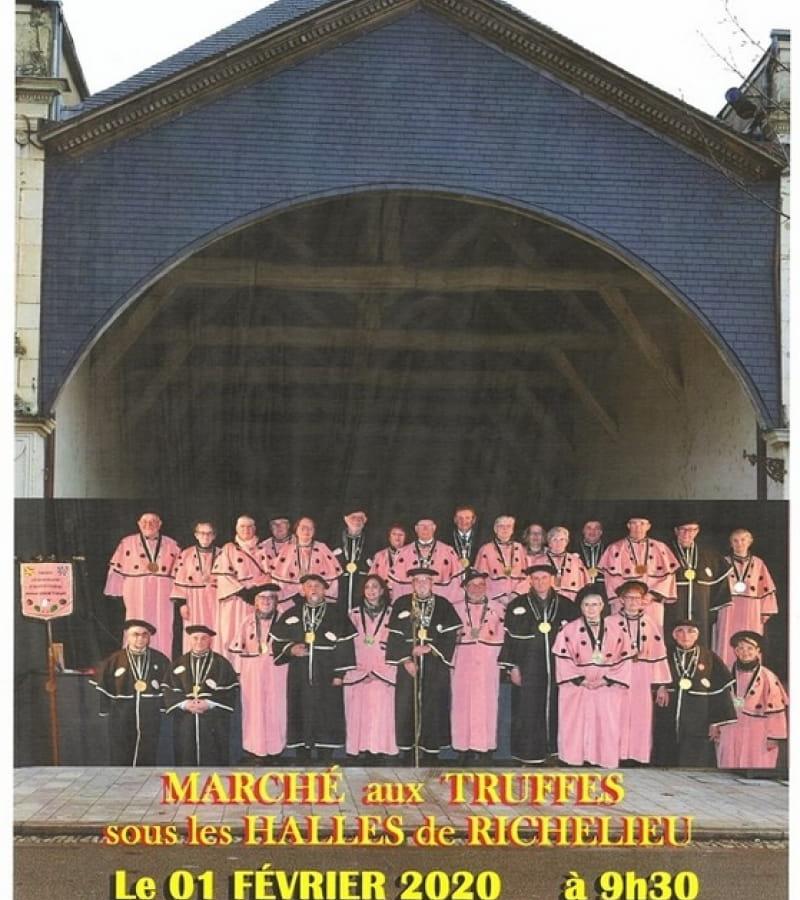 Marché aux truffes Richelieu 1er février 2020