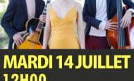 concert Grumi Cisum kiosque Richelieu 14 juillet 2020