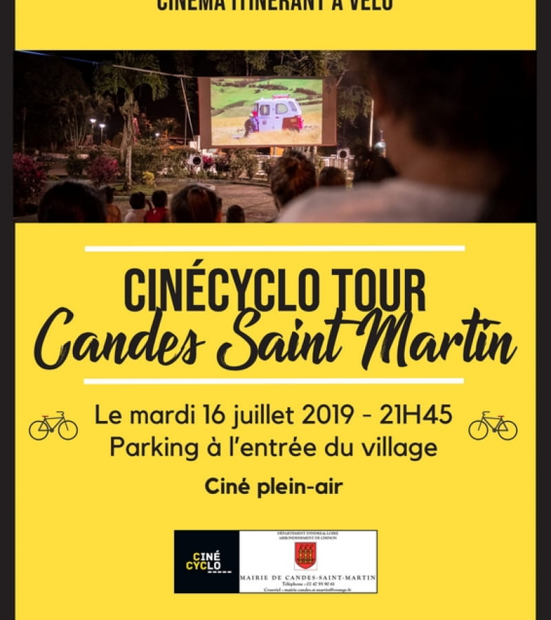 Affiche cinécyclo Candes st martin 2019 (1)