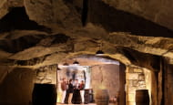 Caves Plouzeau - Chinon, France.