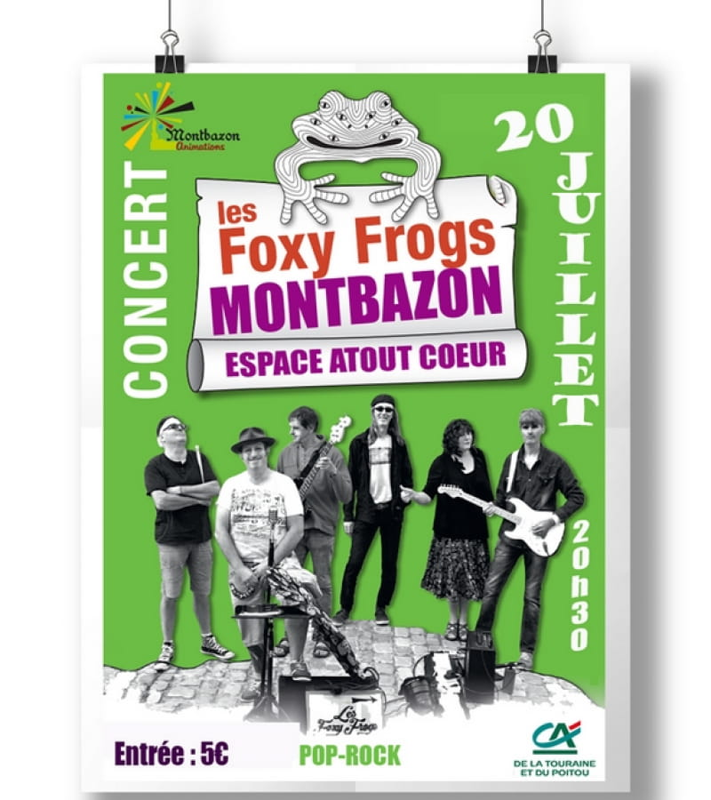 foxy frogs montbazon