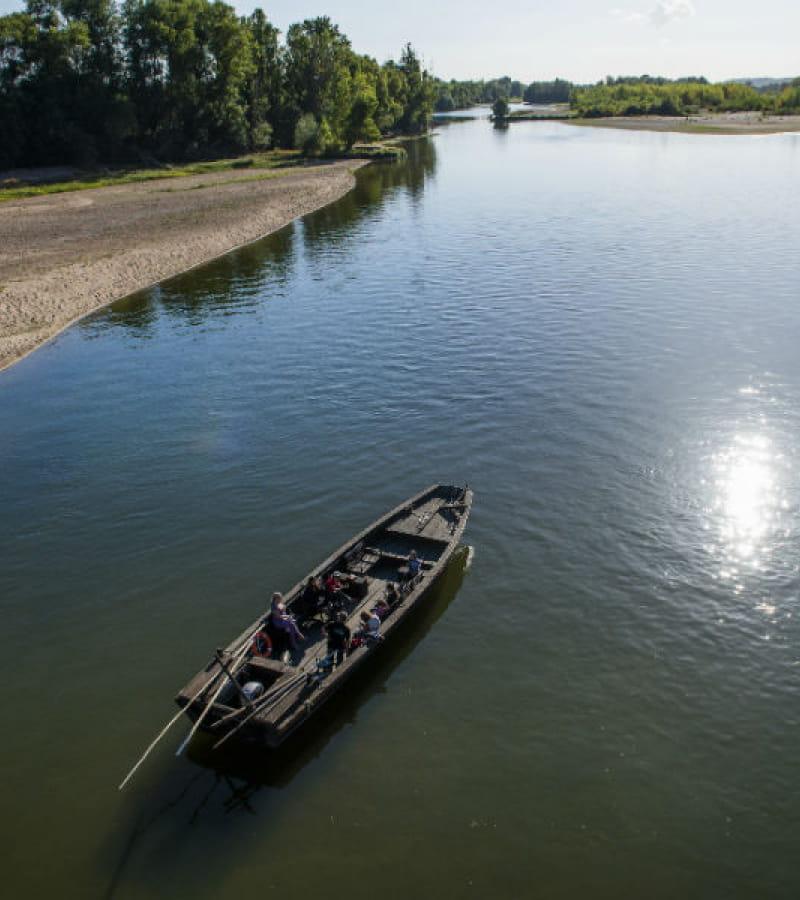 Endremage - Bateau traditionnel de Loire