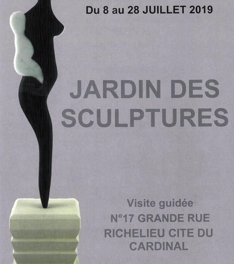 expo jardin des sculptures Richelieu recto