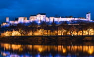 Christmas at the Royal fortress of Chinon
