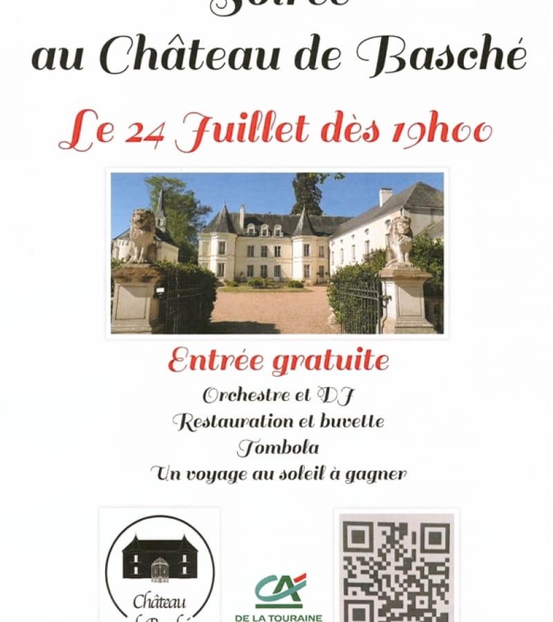 soirée château de Basché Assay juillet 2021