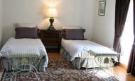 chambre Glycines avec 2 lits jumeaux, 3e lit disponible