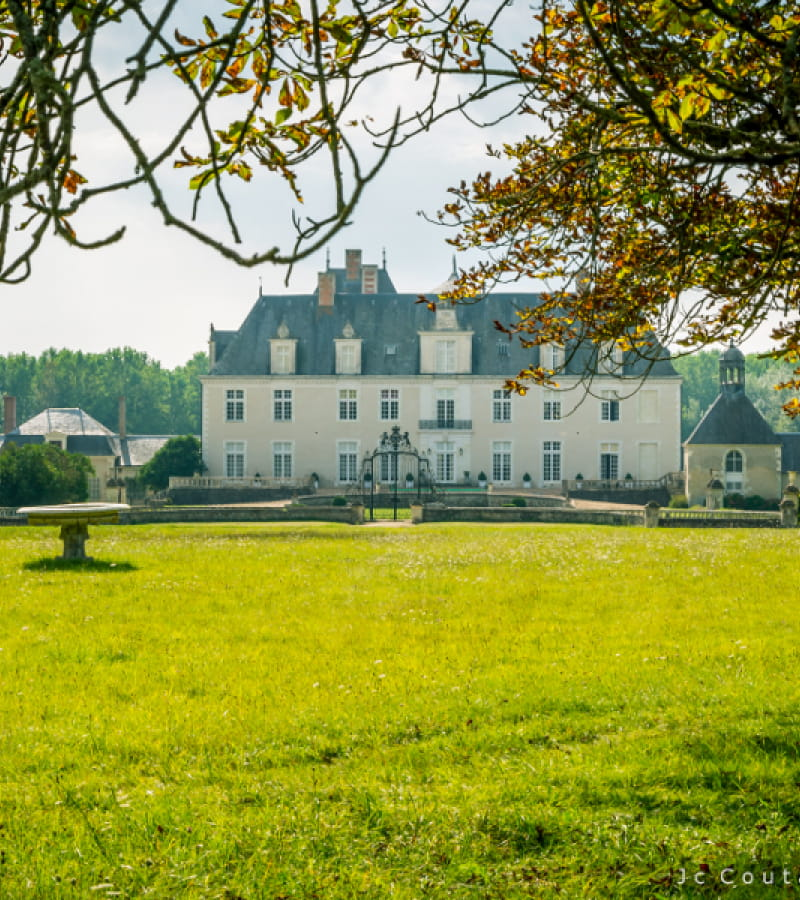 Castle of Champchevrier - Loire Valley, France.