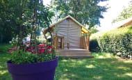 Camping de l'Ile Auger - Canvas bungalows to rent - Chinon campsite, France.