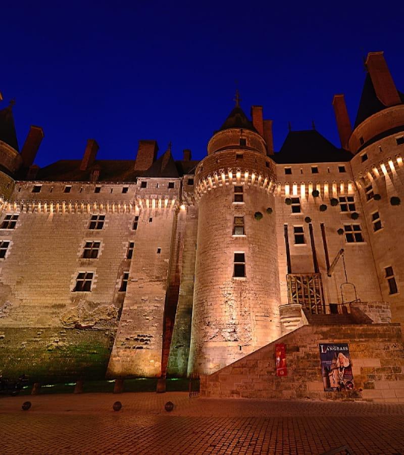 Présentations historiques au château de Langeais
