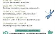 défi biodiversité Richelieu CPIE 2021 verso