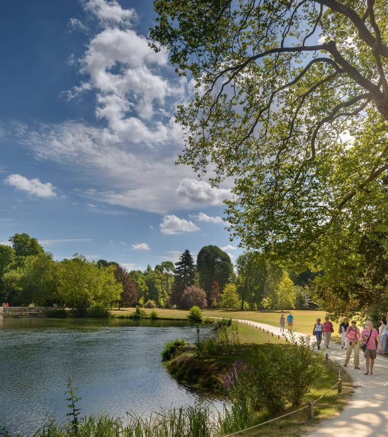 4 Parc du ch+óteau d'Azay-le-Rideau L+®onard de Serres Centre des monuments nationaux