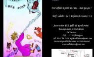 Voyage au Pays des Sons salle du Rond Point Chaveignes  2 août 2020