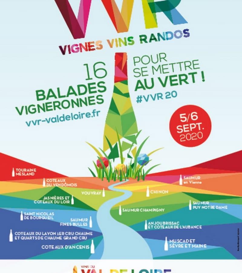 Vignes Vins Randos Avon les Roches 5 et 6 septembre 2020