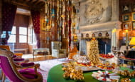 Christmas at Azay-le-Rideau castle