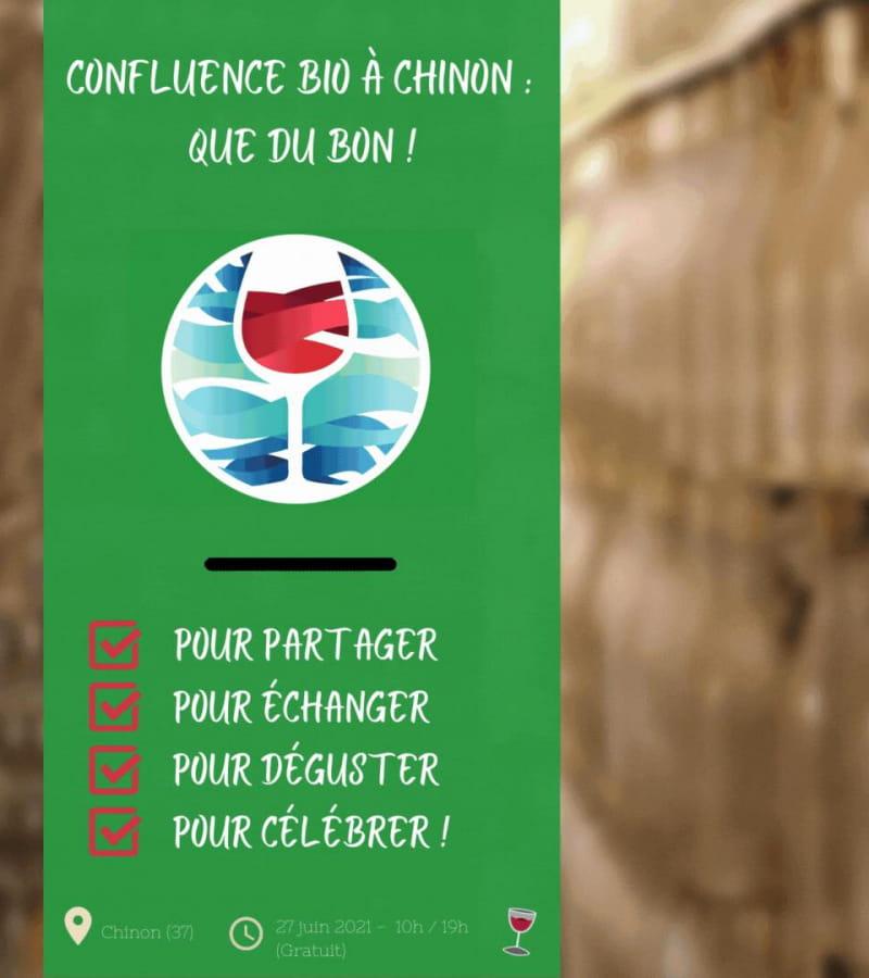 marché bio chinon