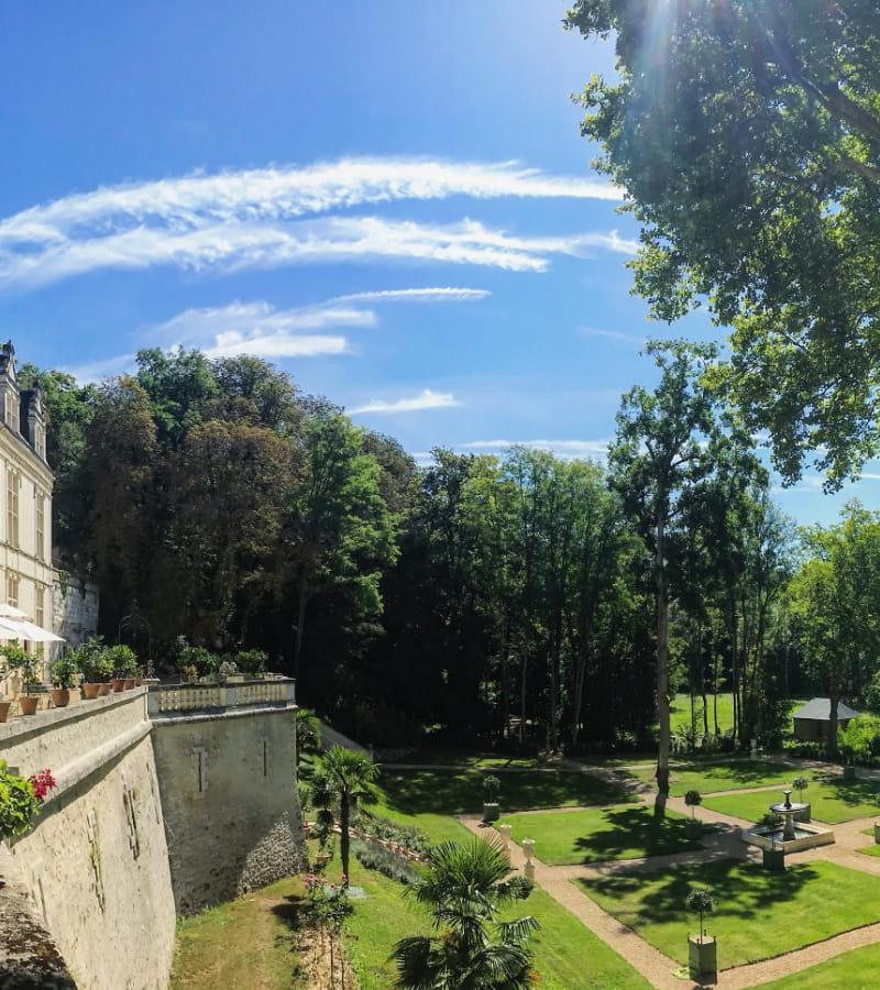 Domaine royal de Château Gaillard - Amboise, France.