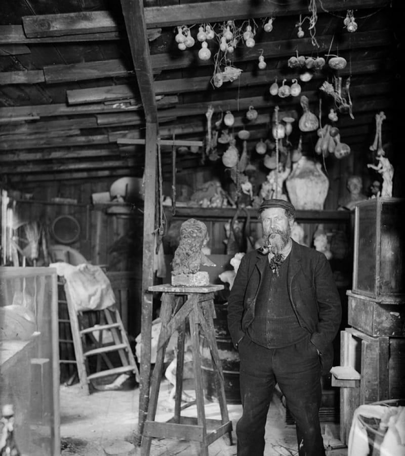 Atelier-de-Desbois---Albert-Harlingue---Roger-Viollet