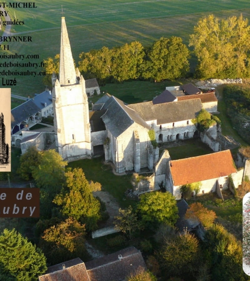 Abbaye Royale Saint Michel de Bois-Aubry 1