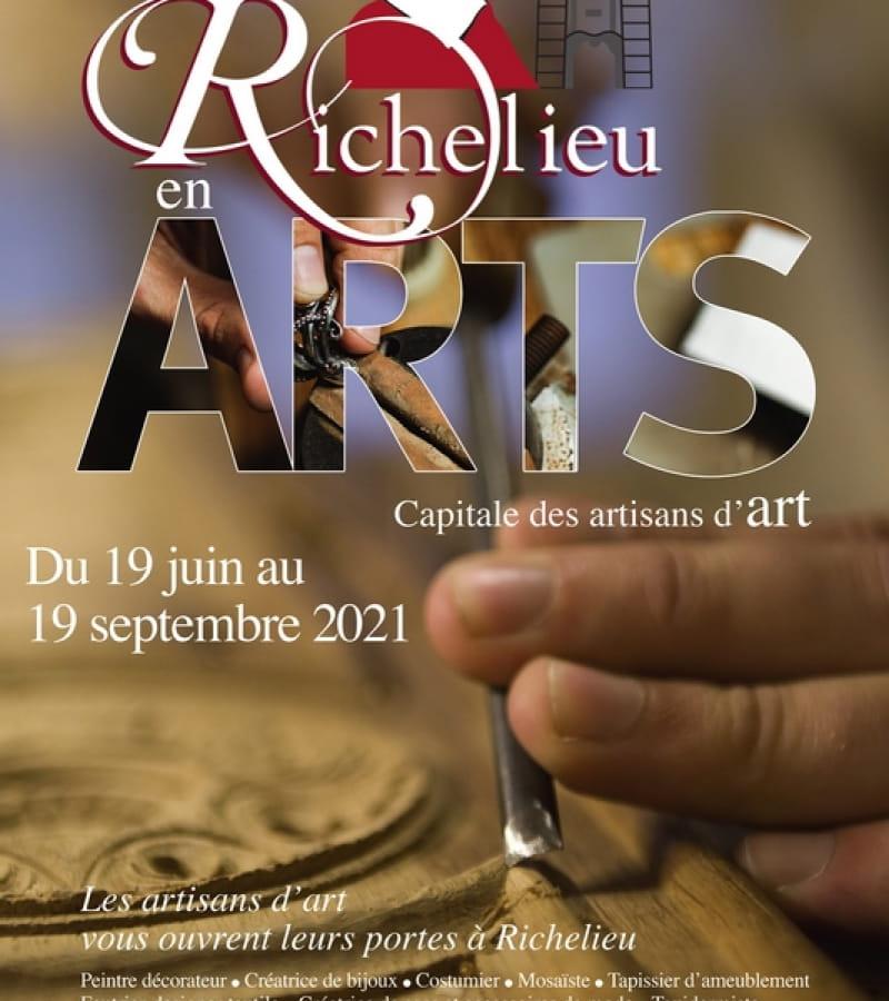 affiche Richelieu en Arts 2021