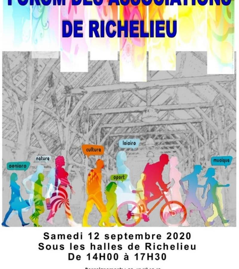 forum des associations Richelieu 2020