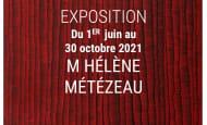 Affiche de l'exposition 'Grands formats' - Villaines-les-Rochers