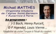 Concert d'orgue église Richelieu 15 août 2020
