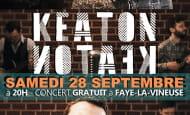 concert Keaton café St Georges Faye-la-Vineuse 2019