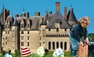 Chasse aux oeufs au château de Langeais