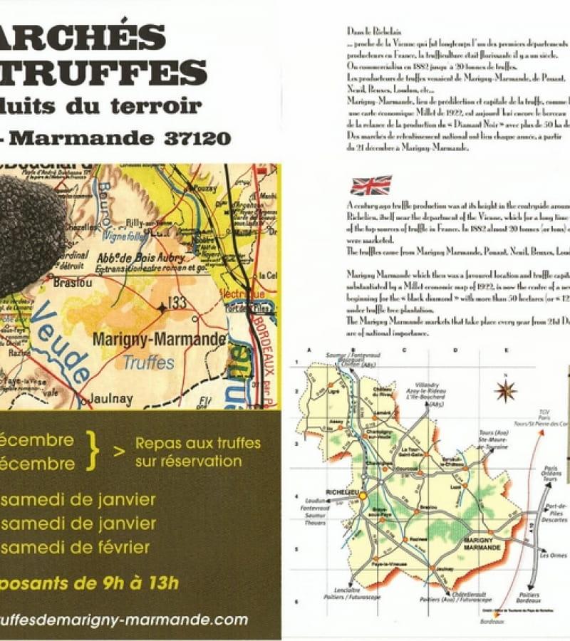 marché aux truffes Marigny-Marmande