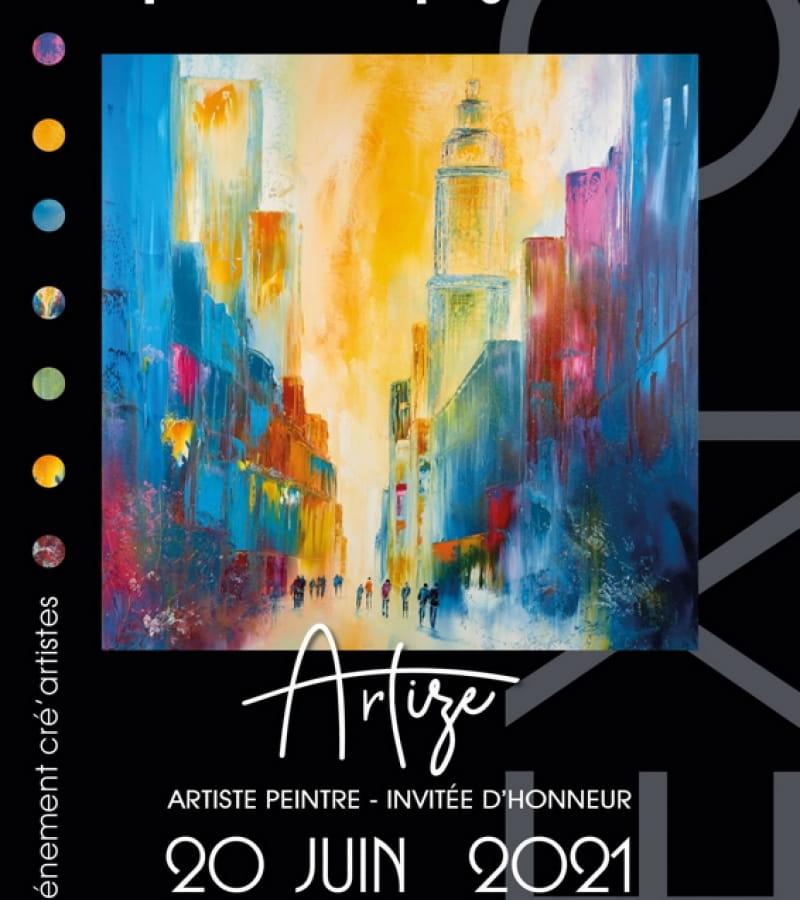 exposition artistes Pouzay Artize juin 2021